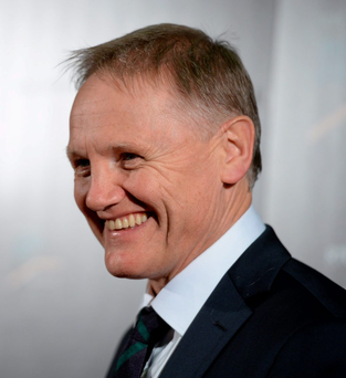 Joe Schmidt: 'When you're coming out of your 22, you've just got to be really accurate there because if you do make a mistake, you give an opportunity to a really good team' Photo: Sportsfile