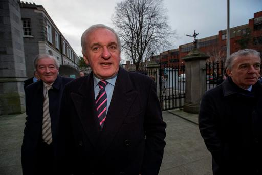 APOLOGY: Former Taoiseach Bertie Ahern apologised on behalf of the State to the victims. Photo: Mark Condren