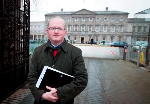 POWERLESS: Philip Lane says that the Central Bank doesn't have the power to interfere in the arrangements between banks and their customers on variable-rate mortgages. Collins