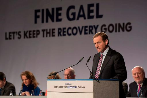 'Taoiseach Enda Kenny (p) has pledged to allow TDs a free vote on future abortion legislation' Photo: Barry Cronin