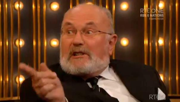 Senator David Norris on the Ray D'Arcy Show