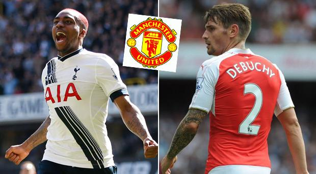 Danny Rose and Mathieu Debuchy have both been linked with moves to Manchester United