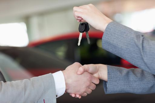 New car sales are up