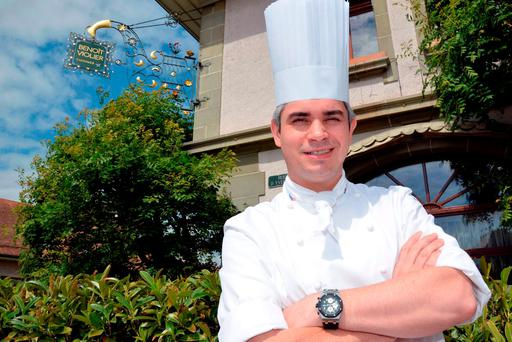Game-changer: Benoît Violier, chef of the Restaurant de l'Hôtel de Ville in Crissier near Lausanne, Switzerland, allegedly shot himself.