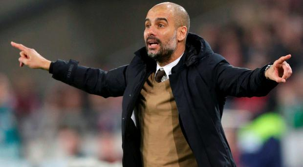 Pep Guardiola. Photo: Reuters