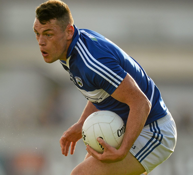 Laois's John O'Loughlin is sidelined after sustaining a broken finger. Photo: Piaras Ó Mídheach / SPORTSFILE