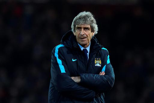 Manuel Pellegrini intends to stay in the Premier League. Photo: Getty