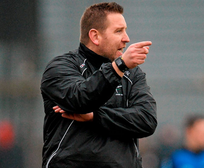 Kildare manager Cian O'Neill. Photo: Seb Daly / SPORTSFILE