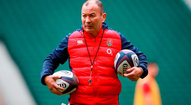 England head coach Eddie Jones. Photo: David Davies/PA.