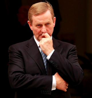 'Will Enda Kenny take a leaf from the Bertie Playbook? Or will he play it straight and posh? All will be revealed soon.'