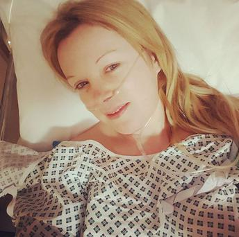 Nikki Hayes recently underwent an appendectomy