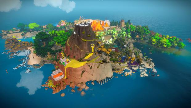 The Witness: The island is bigger than it looks