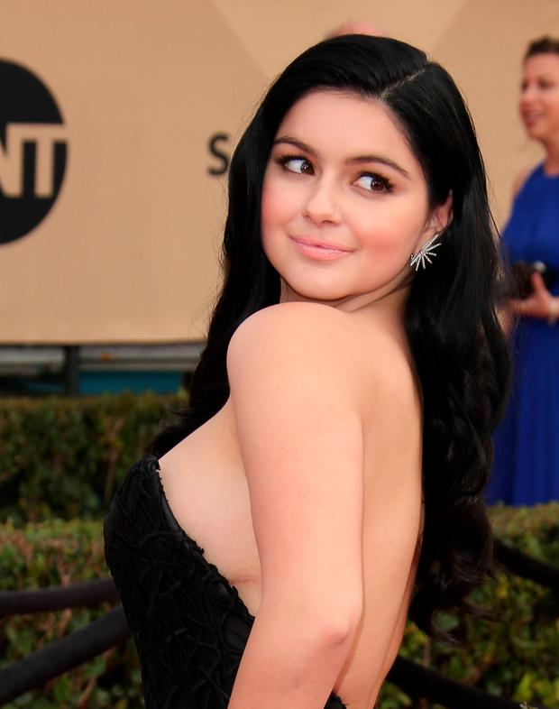 Actress Ariel Winter attends the 22nd Annual Screen Actors Guild Awards at The Shrine Auditorium on January 30, 2016 in Los Angeles, California. (Photo by Dan MacMedan/WireImage)