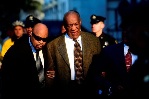 Actor and comedian Bill Cosby arrives for a preliminary hearing on sexual assault charges at the Montgomery County Courthouse in Norristown, Pennsylvania February 2, 2016.Reuters/Mark Makela