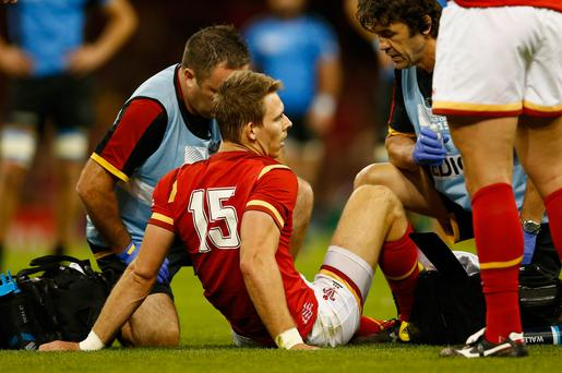 Liam Williams only game time since the Rugby World Cup was 60 minutes against Connacht at the weekend