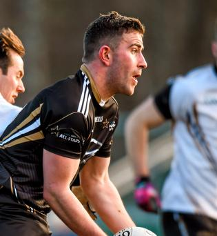 Paddy McBrearty was in flying form for Jordanstown