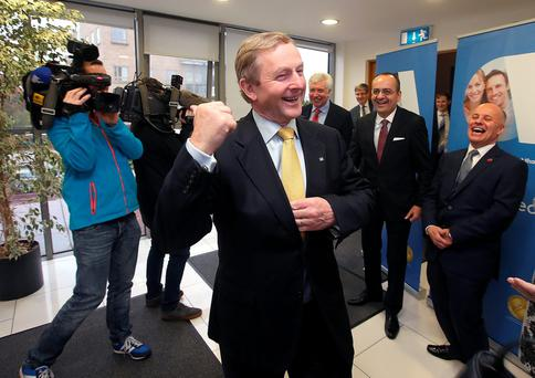 Taoiseach Enda Kenny. Picture credit; Damien Eagers