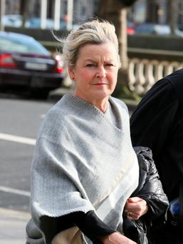 Teresa Wall outside court. Pic: Courts Collins