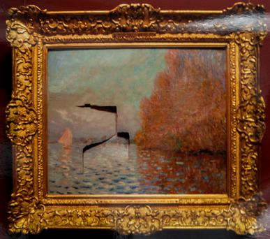 Andrew Shannon was jailed for damaging the Monet painting. Pic: Courtpix