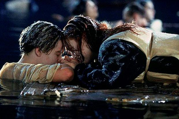 Rose took up all the space on the door as Jack froze to death in the icy waters