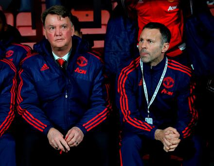 Louis van Gaal and Ryan Giggs will not be parting ways just yet