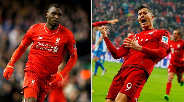 Can Christian Benteke become as prolific as Robert Lewandowski?