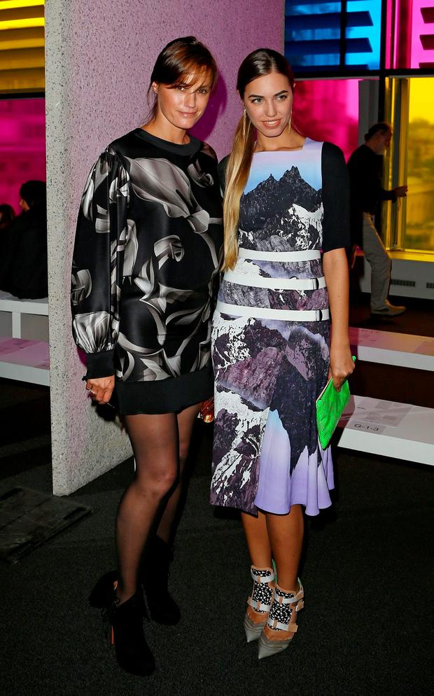Yasmin with daughter Amber (26).