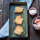Celeriac rösti. Photo: Mark Duggan.