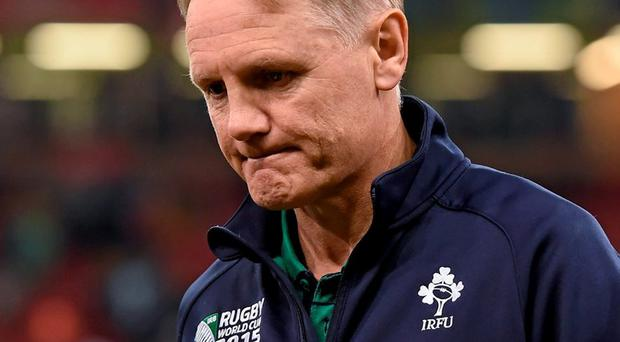 Joe Schmidt realises the gaping limitations of this current squad. He will pick a conservative and experienced team. Photo: Brendan Moran / Sportsfile