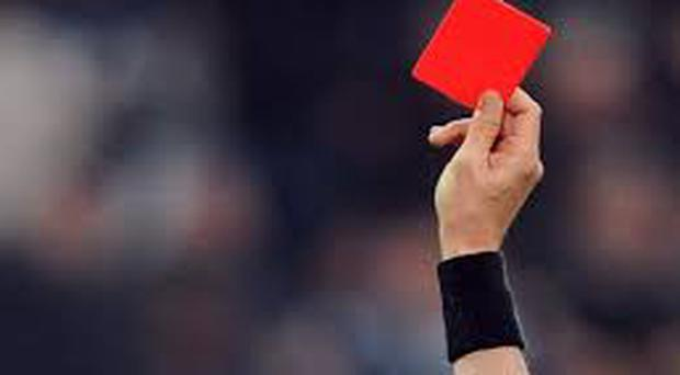 Some referees seem to be unaware of the rules