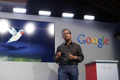 Amit Singhal, senior vice president of search at Google, in Menlo Park, California September 26, 2013. REUTERS/Stephen Lam