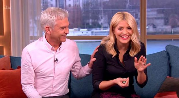Holly Willoughby and This Morning co-host Philip Schofield