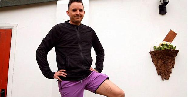 Stuart Valentino revealed that his tattoo was one of the biggest regrets of his life. Photo: Channel 4