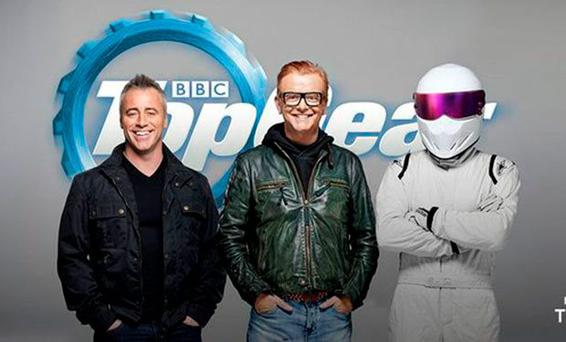 Matt LeBlanc will present Top Gear with Chris Evans and The Stig