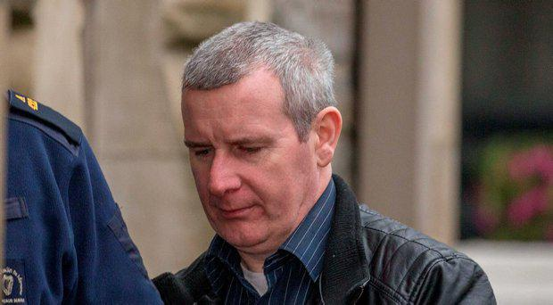 Bernard Quigley arriving at Sligo Circuit Court, to be sentenced for the robbery of a Bank of Ireland ATM in Tubbercurry, Co. Sligo in 2014