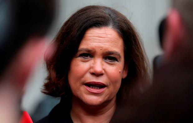 Sinn Féin deputy leader Mary Lou McDonald. Photo: Niall Carson/PA Wire