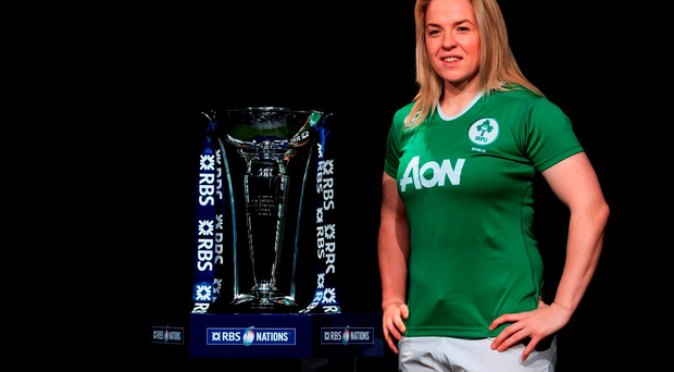 Ireland Women's captain Niamh Briggs. PRESS ASSOCIATION