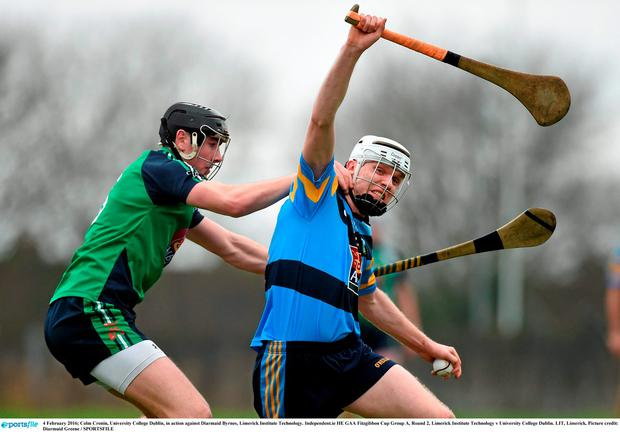 Diarmaid Byrnes The Hero As Davy Fitz And Limerick It See Off Ucd