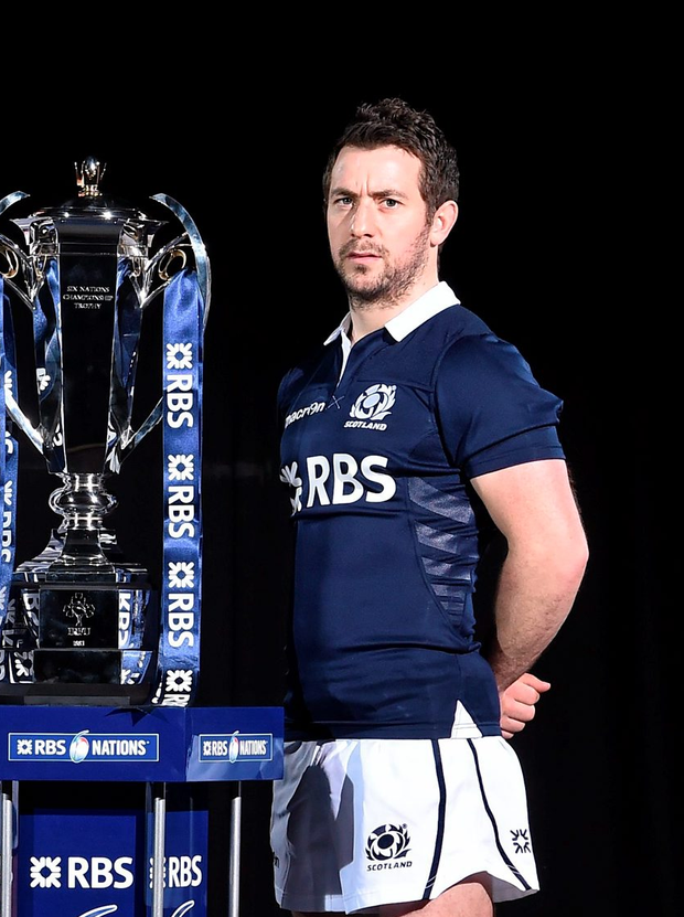 Scotland captain Greig Laidlaw (p) could well lead his nation to glory Photo: Sportsfile