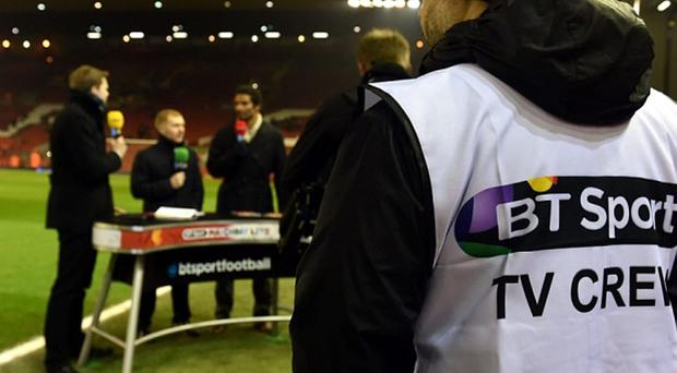 Sky Sports and BT Sport pay £5.14 billion between them for domestic rights (AFP/Getty Images)