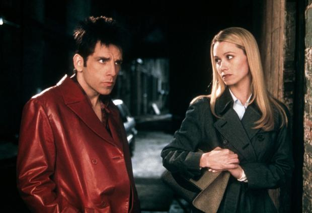 Christine Taylor and Ben Stiller in 2001's Zoolander