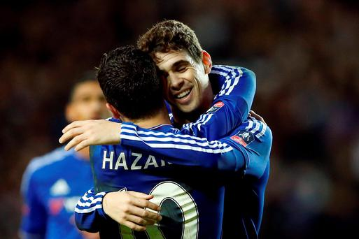 Chelsea have reportedly turned down a massive offer for Oscar