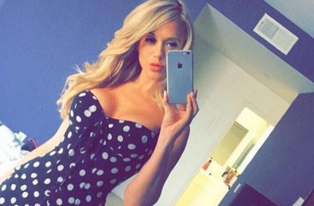 Model Katie May died from a stroke. Picture: Instagram