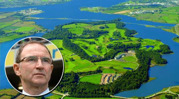 Ireland's pre-Euro 2016 camp will be at the Fota Island resort