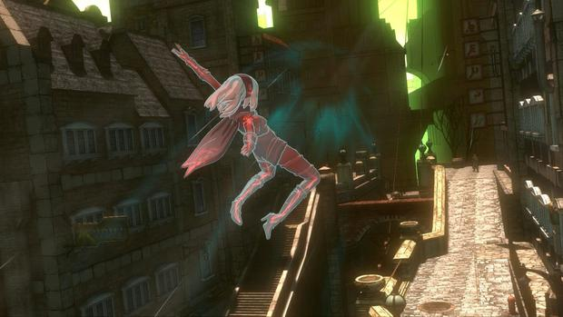 Gravity Rush Remastered: Flying is the best way to travel