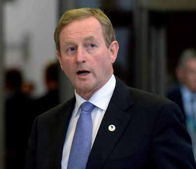 Mr Kenny may be blessed with a fragmented and unfocused opposition in the form of Fianna Fáil, Sinn Féin and the Indy- Bendy-Pendents, but the real opposition – the one inside Fine Gael – is already deciding what to get him as a well deserved leaving present. Photo: Getty