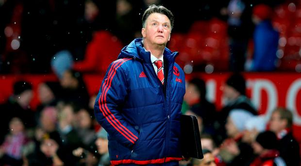 Manchester United manager Louis van Gaal Photo: PA
