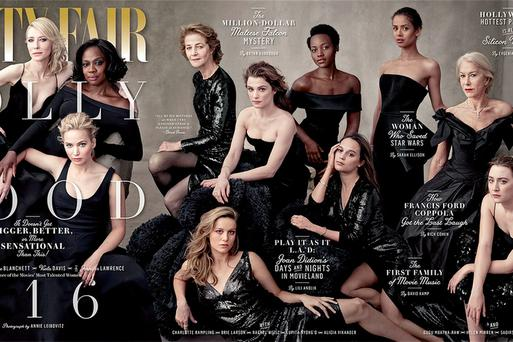 Cover shot: Nobody puts our Saoirse in the corner - except for the mighty Vanity Fair.