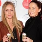 Kate O'Callaghan and Faye Rooney pictured at the official launch of Dine in Dublin 2016. Picture: Andres Poveda