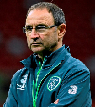 'Martin O'Neill is a smart manager and there may even be the occasional trip to Cork allowed, but I imagine he'd draw the line at a visit to the Jameson Distillery' Photo: Sportsfile